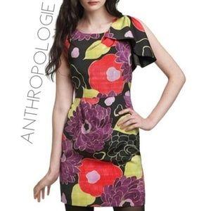 Anthro Leifsdottir floral dress